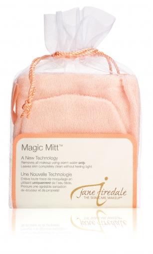 Magic Mitt, Reinigungshandschuh, Waschhandschuh aus Mikrofaser, jane iredale
