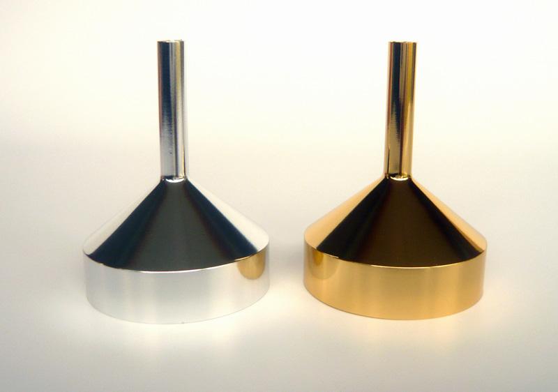 Metall Parfüm-Trichter Kosmetex Trichter groß (43 mm) zum Umfüllen