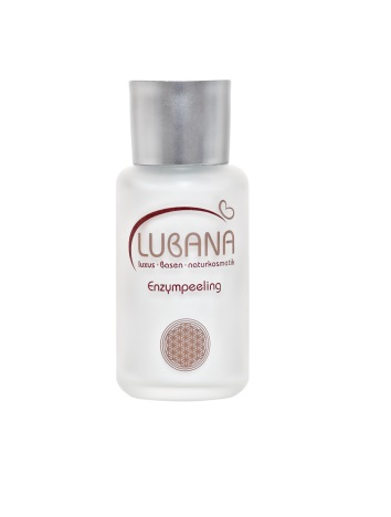 LUBANA basisches Enzympeeling, pH 7,6, ohne Silikone, Pulver, basisch, spendet Feuchtigkeit, 40 g