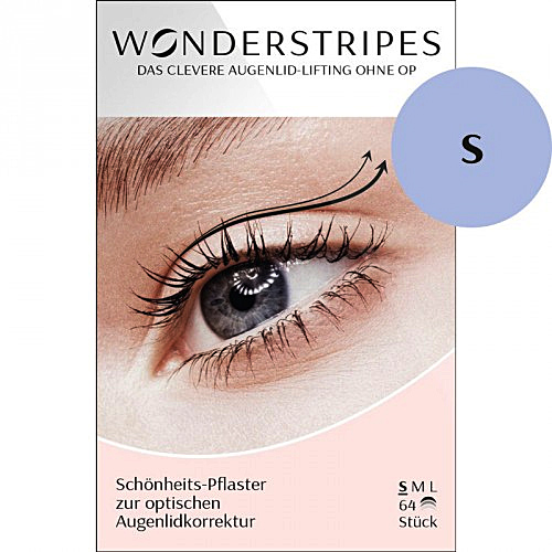 Wonderstripes Augenlid Pflaster, transparent