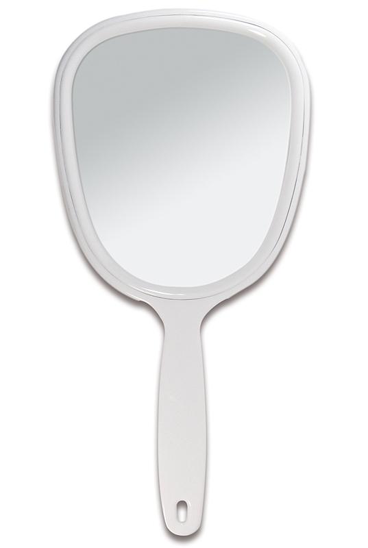 Handspiegel mit ovaler Form Kosmetex Kosmetik-Spiegel, normal 1-fach