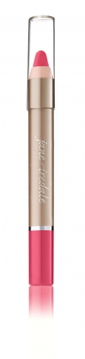 jane iredale - Lip Crayon - Charming, cremiges, knalliges Kaugummi 2-in-1 Lippenstift und Lipliner 2,8g 16069