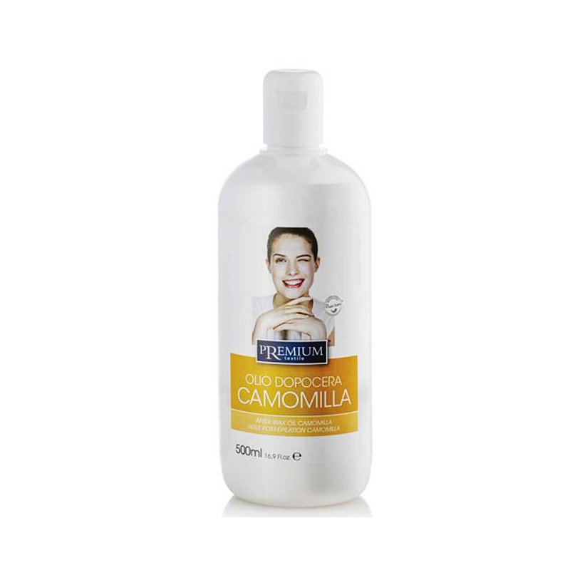 Kosmetex Premium Kamille After Wax Öl, kühlt, pflegt, entfernt Wachsreste nach dem Wachsen - Waxing, 500ml