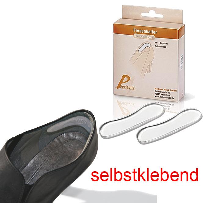 Peclavus RUCK SmartGel Fersenhalter, Gel, Schuh Ferseneinlage, 1 Paar ruc-73208