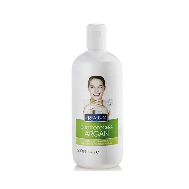 Kosmetex Premium Argan After Wax Öl, beruhigt und pflegt, entfernt Wachsreste nach dem Wachsen - Waxing, 500ml