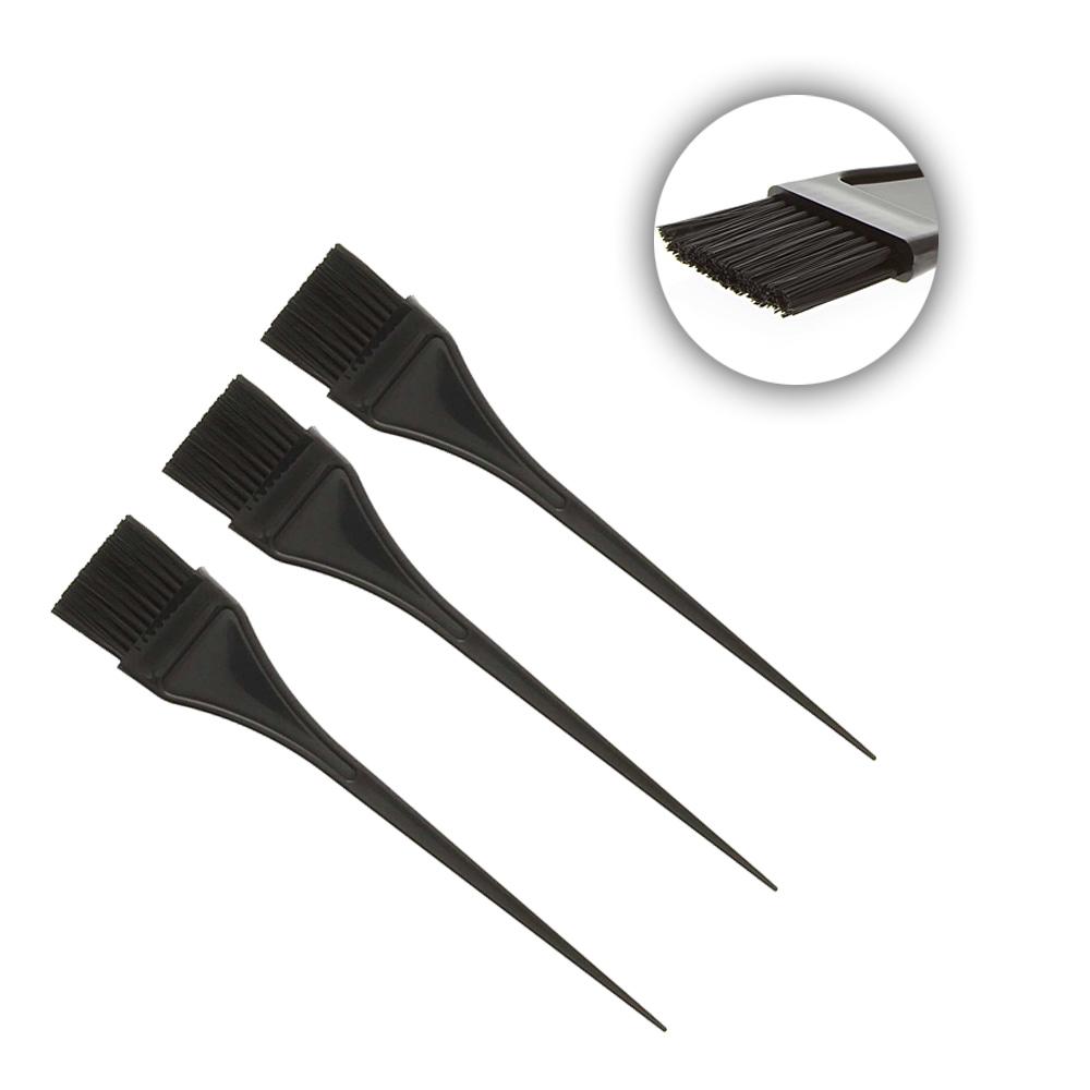 Kosmetex Haarfärbepinsel schwarz, 22cm, Pinsel für die Haarfarbe 370. 218