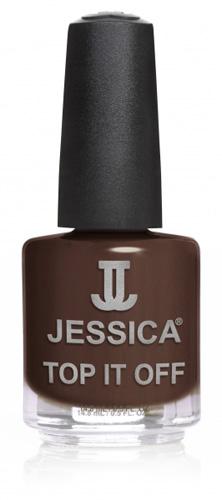 Jessica Nagellack 695 Crash Brown Croc Crackle, Braun, 14,8ml J-UPC695