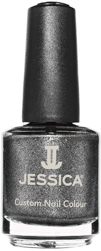 Jessica Nagellack 699 Smokey Feather, silber, schimmernd, 14,8ml J-UPC699