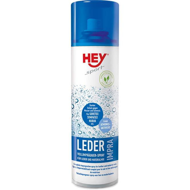 HEY sport IMPRA Leder Vollimprägnierer-Spray Imprägnierspray zum Imprägnieren von Leder, Velours, Synthetics und Textil