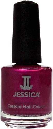 Jessica Nagellack 236 Red Vines, Weinrot Rot, Cremerot, 14,8 ml J-UPC236