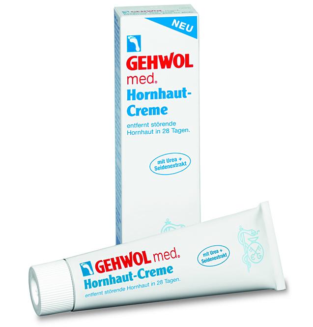 GEHWOL med. Hornhaut Creme, Fusscreme mit Urea, bei Hornhaut, trockener Haut,