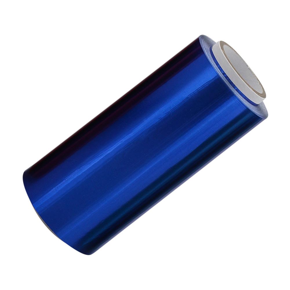 Blaue Friseur Premium Alufolie 12 cm x 250 meter, Strähnenfolie Starke Kosmetex Alu Folie mit 15 Micron