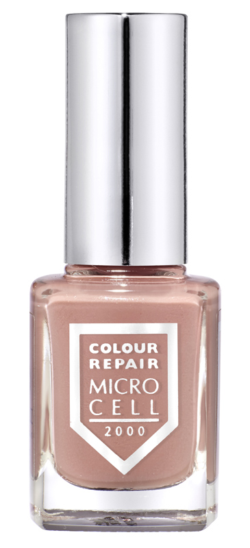 Micro Cell 2000 Nagellack, Sandy Beach 34045, dezenter Nude-Look, helles Braun-Rosa, Colour Repair, 11ml