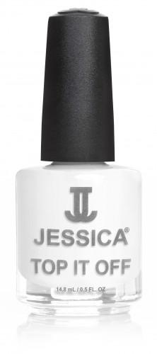 Jessica Nagellack 676 Crash White Aligator, Crackle, Weiß Schwarz, 14,8ml J-UPC694