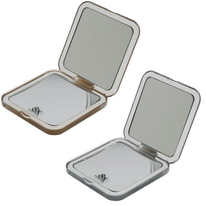 taschen spiegel klappspiegel mit 8 fach vergr erung quadratisch 8cm. Black Bedroom Furniture Sets. Home Design Ideas