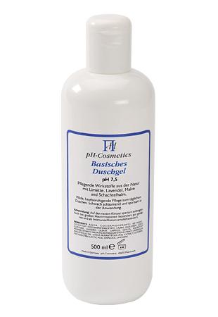 Duschgel, basisch pH 7,5, ph-Cosmetics, Basen Gel zum Duschen für Haar und Körper