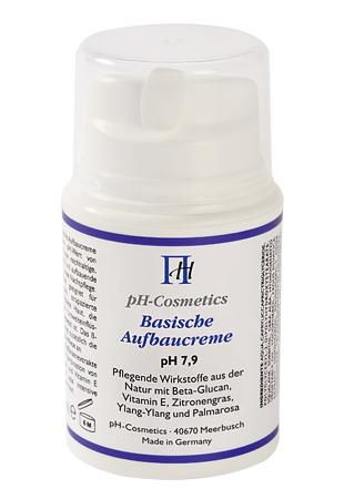 Aufbaucreme, basisch, pH 7,9, ph-Cosmetics, Basen Creme die aufbaut, Tagescreme und Nachtcreme, 50 ml