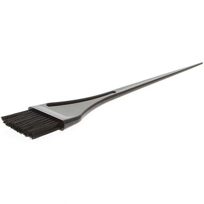 Kosmetex Haarfärbepinsel schwarz, 22cm Pinsel für die Haarfarbe 370. 218