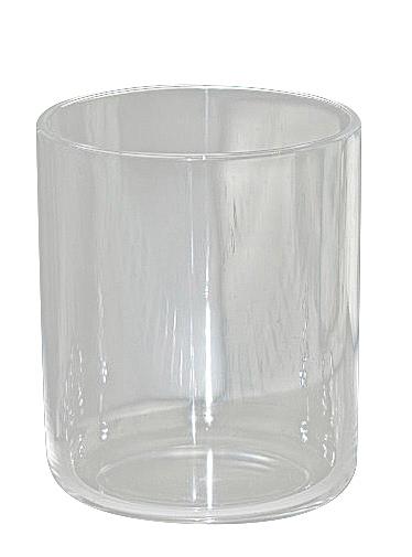 Kosmetex Zahnputzbecher Mundbecher aus Acryl Der Klassiker im Badezimmer, Ø 7cm