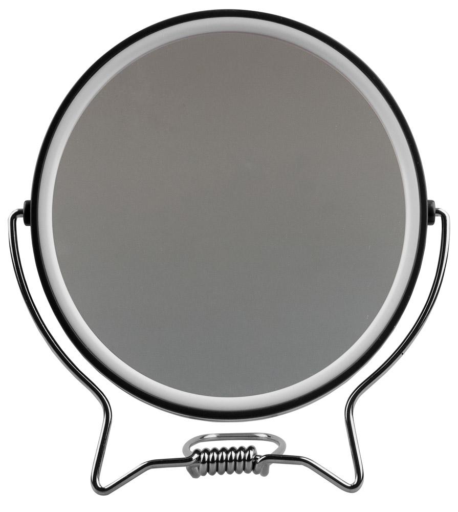 Kosmetex Rasierspiegel, Spiegel, 2-fach, zum Stellen oder Aufhängen, Kosmetik-Spiegel mit 2 Seiten