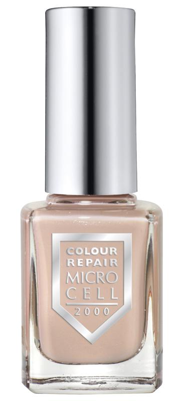 Micro Cell 2000 Nagellack, Choco Mousse 34105, der natürliche Nude-Look für die Nägel, Grau Braun, Colour Repair, 11ml