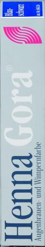 Henna Gora Wimpernfarbe blauschwarz Augenbrauenfarbe 17ml