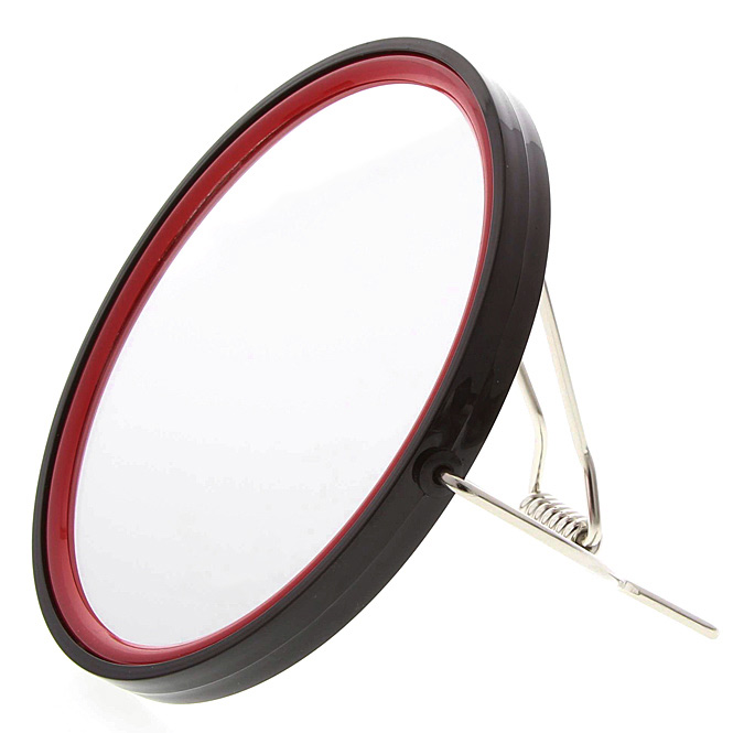 Kosmetex Rasierspiegel, Spiegel, 2-fach, zum Stellen oder Aufhängen, Kosmetik-Spiegel MenB mit 2 Seiten