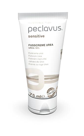 Peclavus Sensitive Fußcreme Urea 10 %, Fußpflege, sofortige Hilfe bei trockener Haut ruc555200-2
