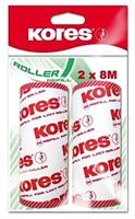 Kores 2x Ersatzrollen für Fusselroller, jede Ersatzrolle hat 80 Blatt