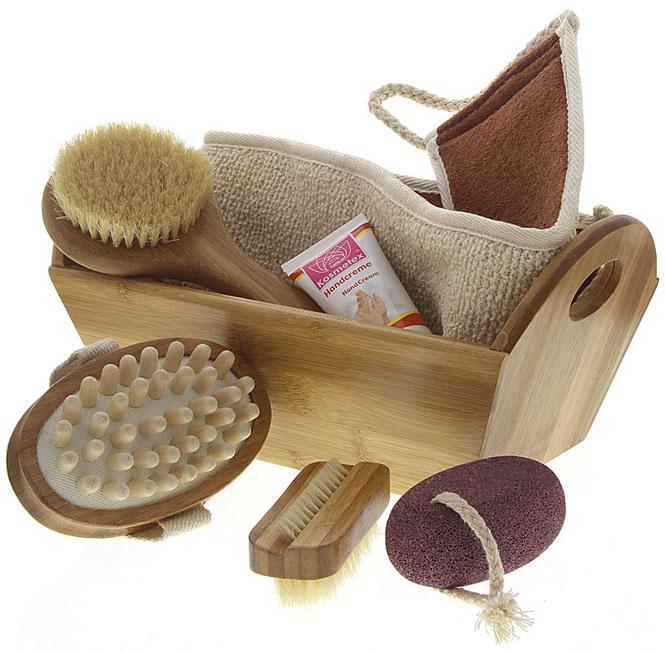 dekorative geschenksets f r bad oder sauna mit badezubeh r saunazubeh r. Black Bedroom Furniture Sets. Home Design Ideas