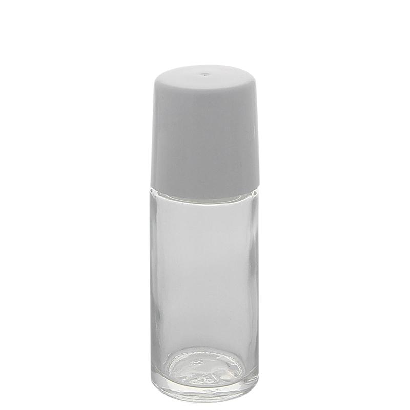 klare deostick flasche 50ml kosmetex roll on deo roller zum selbst. Black Bedroom Furniture Sets. Home Design Ideas