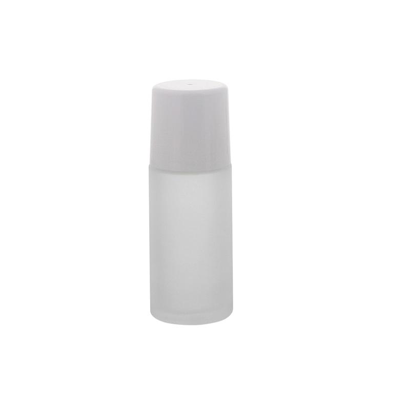 mattierte leere deostick flasche 50ml kosmetex roll on deo roller zum. Black Bedroom Furniture Sets. Home Design Ideas