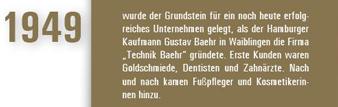 Geschichte Baehr Beauty 1949